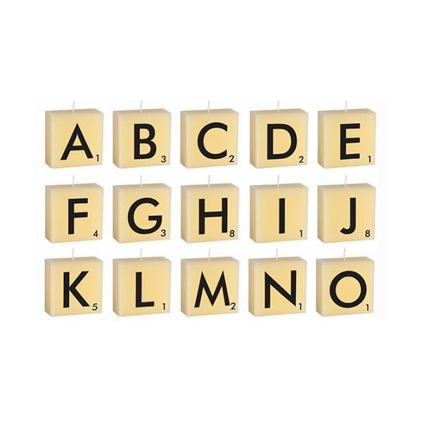 Velas letras abc scrabble shop online promesa by isabella - Letras scrabble pared ...